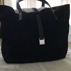 **AUTHENTIC** Tiffany & Company Suede Tote